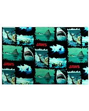 Jaws Fabric Horizontal Poster tile