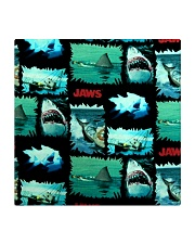 Jaws Fabric Square Coaster tile