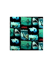 Jaws Fabric Square Magnet thumbnail