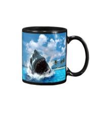 jaws shark Mug tile