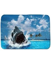 jaws shark Bath Mat tile