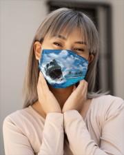 jaws shark Cloth face mask aos-face-mask-lifestyle-17