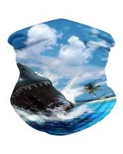 jaws shark Neck Gaiter tile