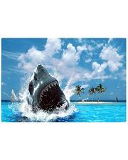 jaws shark Rectangle Cutting Board tile