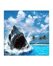 jaws shark Square Coaster tile