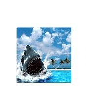 jaws shark Square Magnet tile