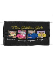 The Golden Girl Cloth face mask front