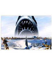 Jaws Shark Moment 17x11 Poster thumbnail