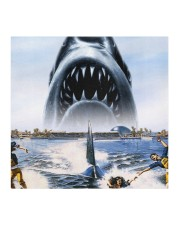 Jaws Shark Moment Cloth face mask aos-face-mask-coverlet-lifestyle-front-02