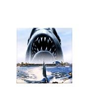 Jaws Shark Moment Square Magnet thumbnail