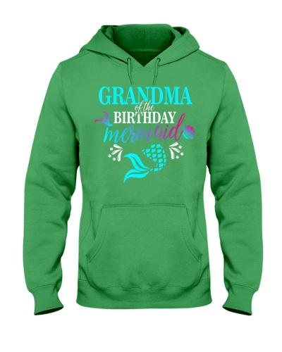 Grandma Of The Birthday Mermaid Matchin