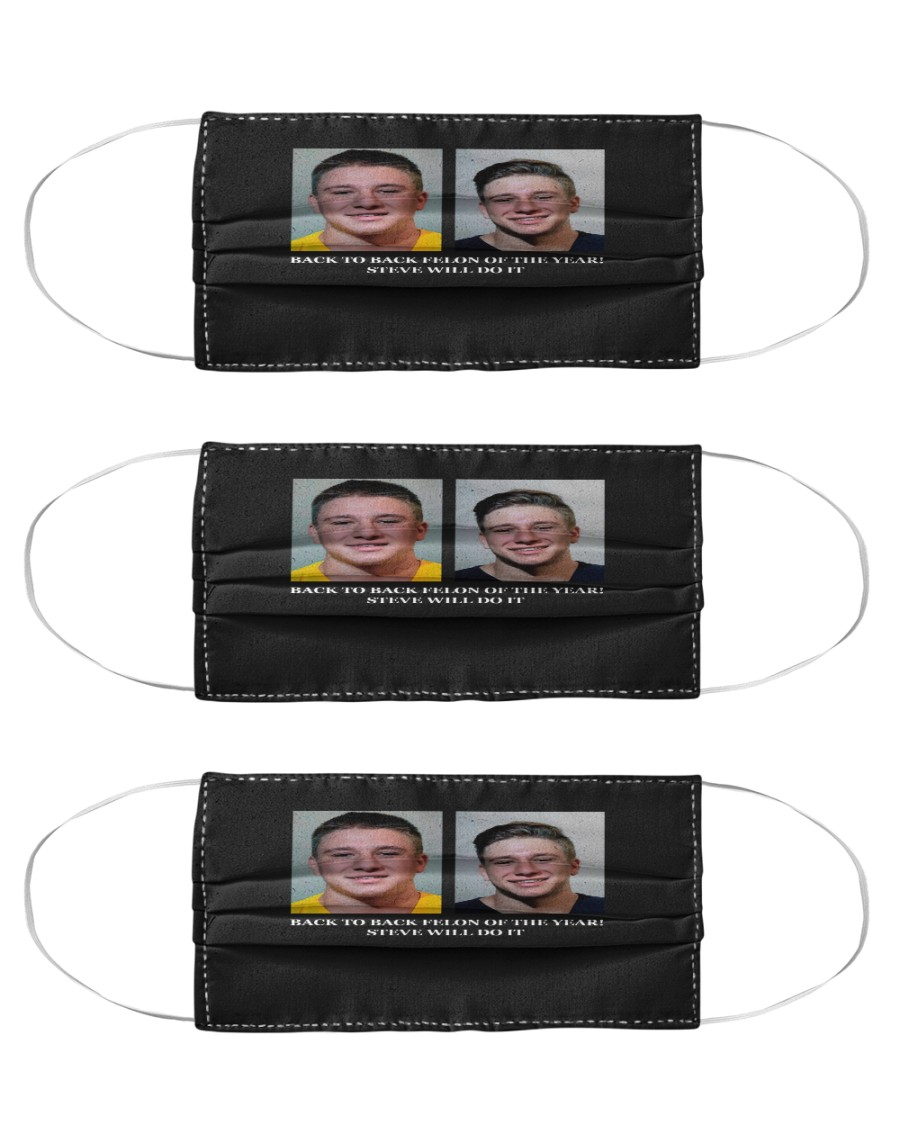 Stevewilldoit Double Mugshot Full Send Face Mask Add an effect to your donation alert. gemstee