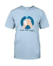 Wash Your Hands - James 4:8 T-Shirt Classic T-Shirt front