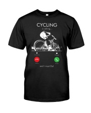 cycling is calling 2163476 Classic T-Shirt front