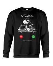 cycling is calling 2163476 Crewneck Sweatshirt thumbnail