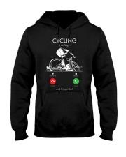 cycling is calling 2163476 Hooded Sweatshirt thumbnail