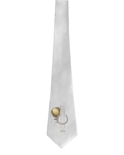 Gold Guitar tie