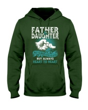 Father and Daughter Hooded Sweatshirt front