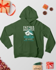 Father and Daughter Hooded Sweatshirt lifestyle-holiday-hoodie-front-2