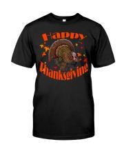 Happy Thanksgiving Long Sleeve TShirt Classic T-Shirt front