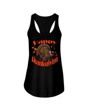 Happy Thanksgiving Long Sleeve TShirt Ladies Flowy Tank thumbnail