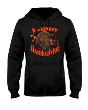 Happy Thanksgiving Long Sleeve TShirt Hooded Sweatshirt thumbnail