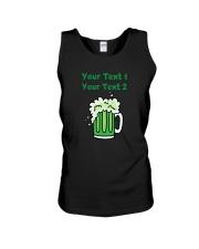 St Paddy's Green Beer Women's Dark  Unisex Tank thumbnail