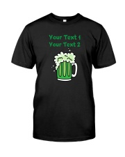 St Paddy's Green Beer Women's Dark  Classic T-Shirt front