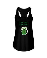 St Paddy's Green Beer Women's Dark  Ladies Flowy Tank thumbnail