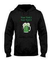 St Paddy's Green Beer Women's Dark  Hooded Sweatshirt thumbnail