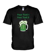 St Paddy's Green Beer Women's Dark  V-Neck T-Shirt thumbnail