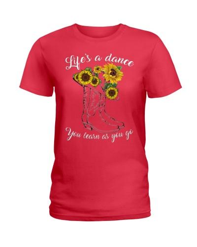 lifes a dance you learn as you go sunfl 159123
