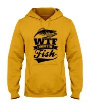 Where The Fish Hooded Sweatshirt thumbnail