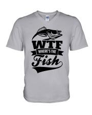 Where The Fish V-Neck T-Shirt thumbnail