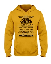 florida auntie Hooded Sweatshirt thumbnail