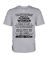 florida auntie V-Neck T-Shirt thumbnail