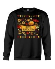 happy thanksgiving day TShirt Crewneck Sweatshirt thumbnail