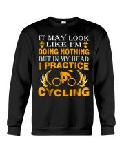 cycling 1 192665 Crewneck Sweatshirt thumbnail