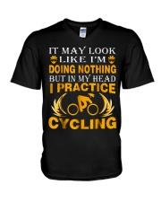cycling 1 192665 V-Neck T-Shirt thumbnail