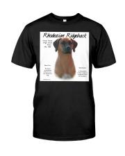 Ridgeback  Classic T-Shirt front