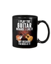 guitar i play because Mug thumbnail