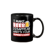 I Make Beer Disappear Funny Whats your Sup  Mug tile