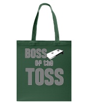 Boss of the Toss Dark  Tote Bag thumbnail