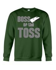 Boss of the Toss Dark  Crewneck Sweatshirt thumbnail