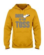 Boss of the Toss Dark  Hooded Sweatshirt thumbnail