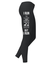 Run like theres a hot guy Ladies Leggings right
