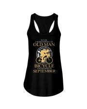 bicycle old man v2 09 70954 Ladies Flowy Tank thumbnail
