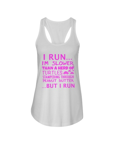 I run slower than turtle pink