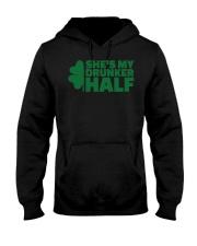 Shes my drunker half  Hooded Sweatshirt thumbnail