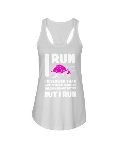 I run breast cancer